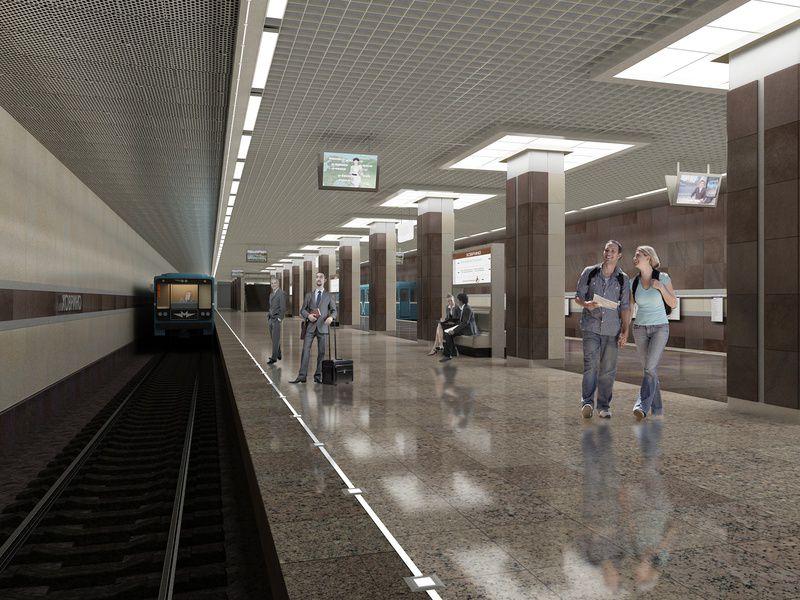 Станция метро «Ховрино» откроется кначалу зимы