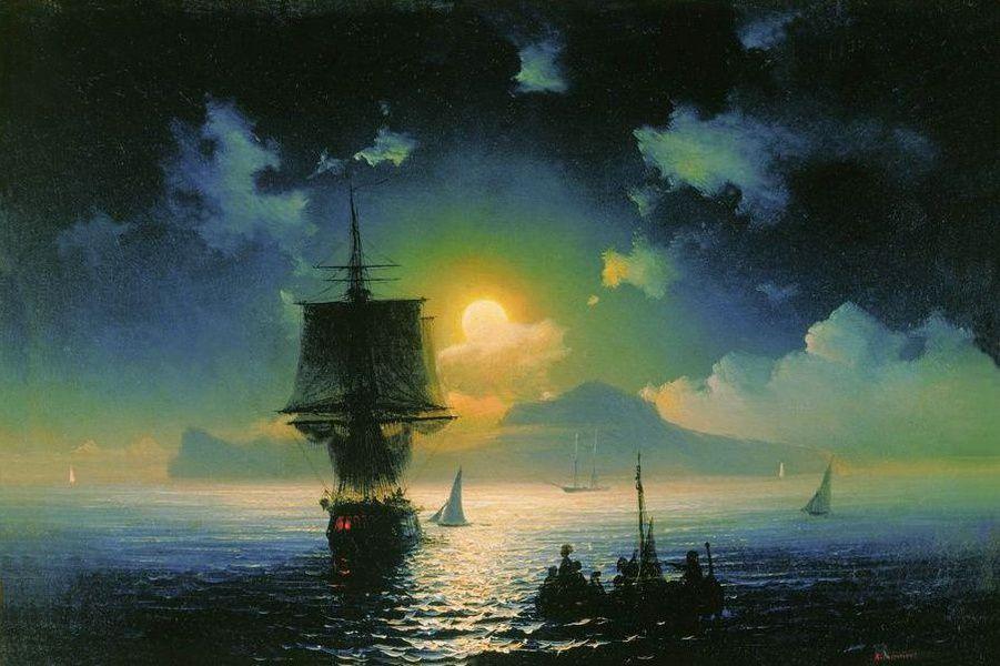 ТАСС оживил картины Ивана Айвазовского