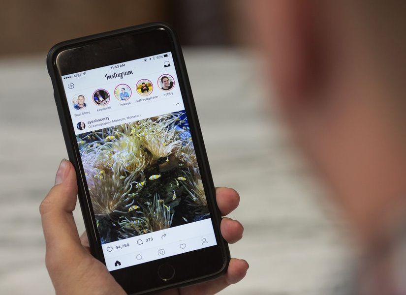 Социальная сеть Instagram изменил метод показа публикаций вленте