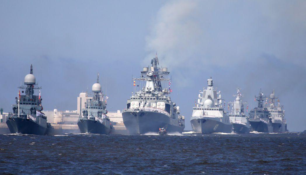 Ввоенно-морском параде вПетербурге примет участие 41 корабль
