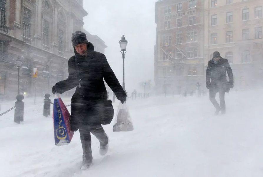 Желтый уровень погодной опасности объявлен в столице на14февраля