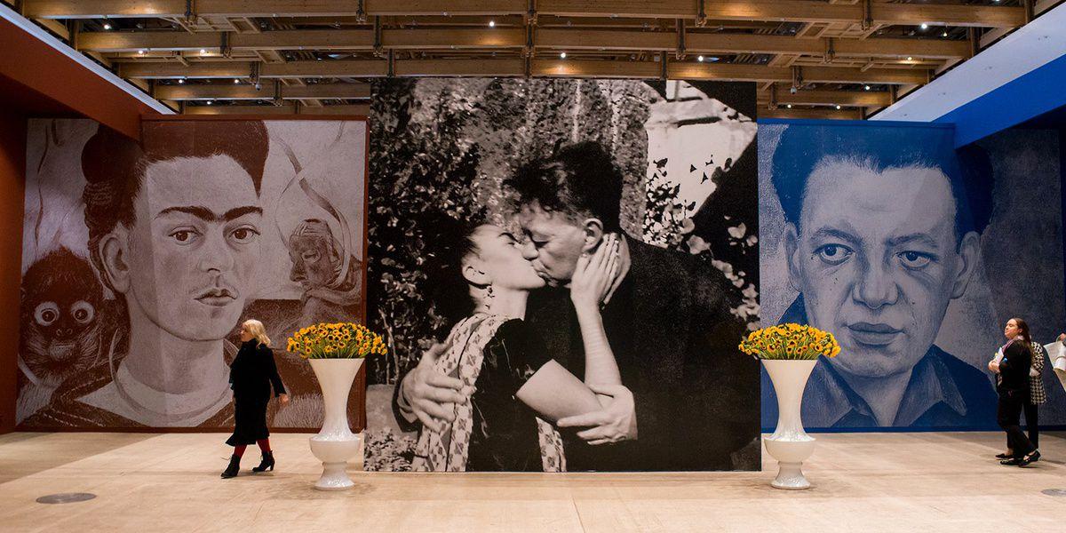 Выставку работ Фриды Кало иДиего Риверы продлили до12марта