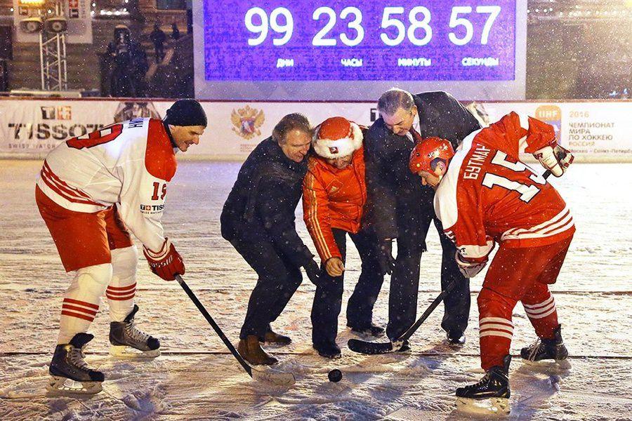 Tissot отметит 100 дней до начала чемпионата мира по хоккею