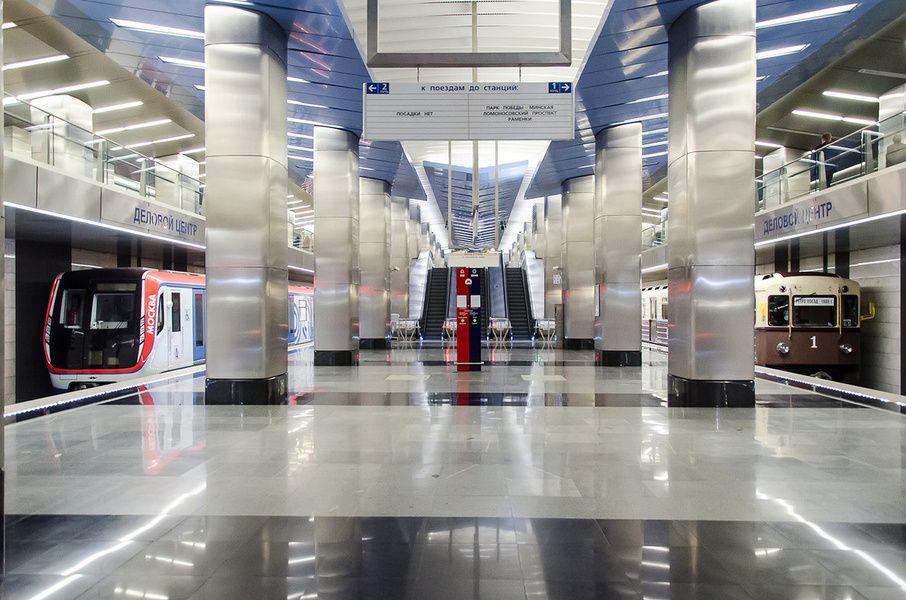 Станцию метро «Деловой центр» закроют для пассажиров надва дня