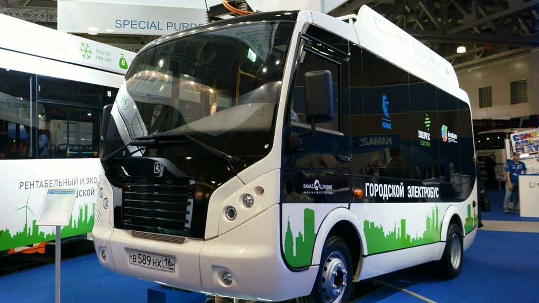 Осенью будущего 2018 на дорогах столицы появятся первые электробусы