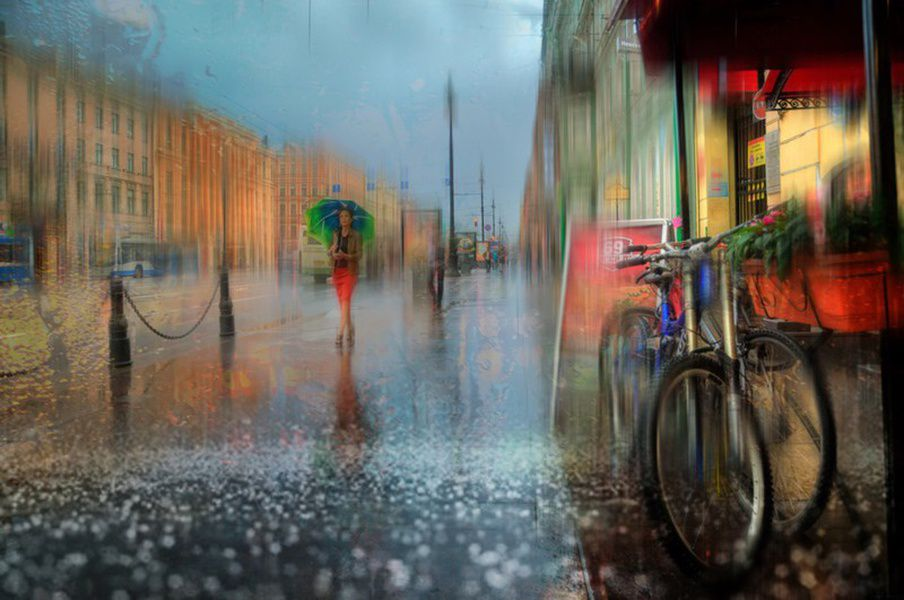 Лето 2016 стало самым дождливым вистории Петербурга