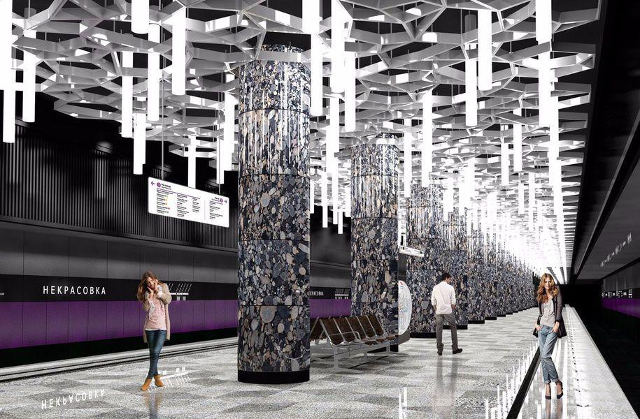 В столице возобновят экскурсии построящимся станциям метро