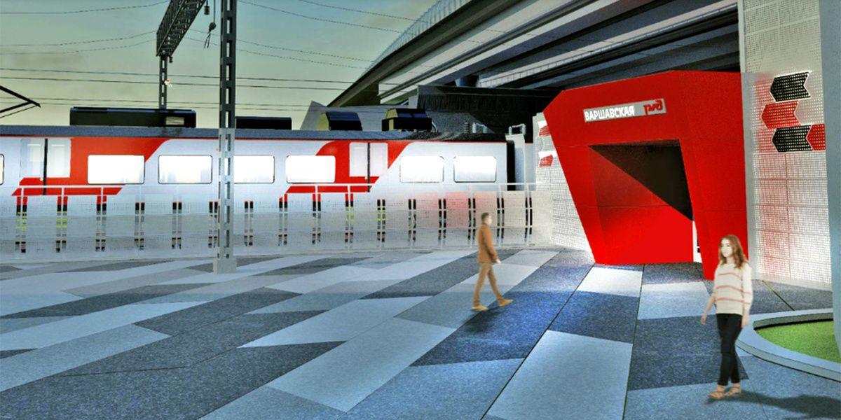 Железнодорожная станция встиле авангард появится в столице