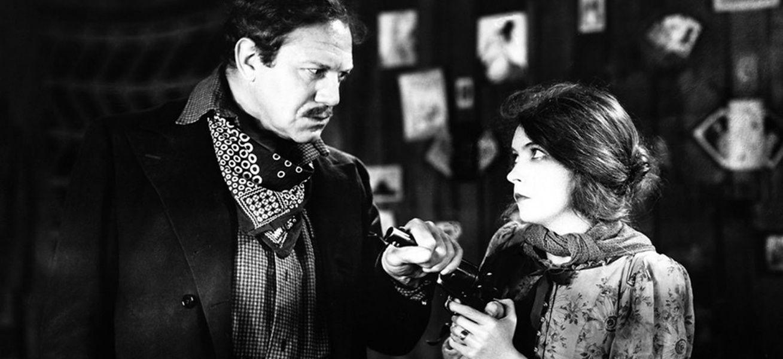 Кадр из фильма «Ветер» Виктора Шёстрёма, 1928 г.
