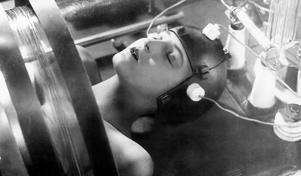 Кадр из фильма «Метрополис» Фрица Ланга, 1926 г.